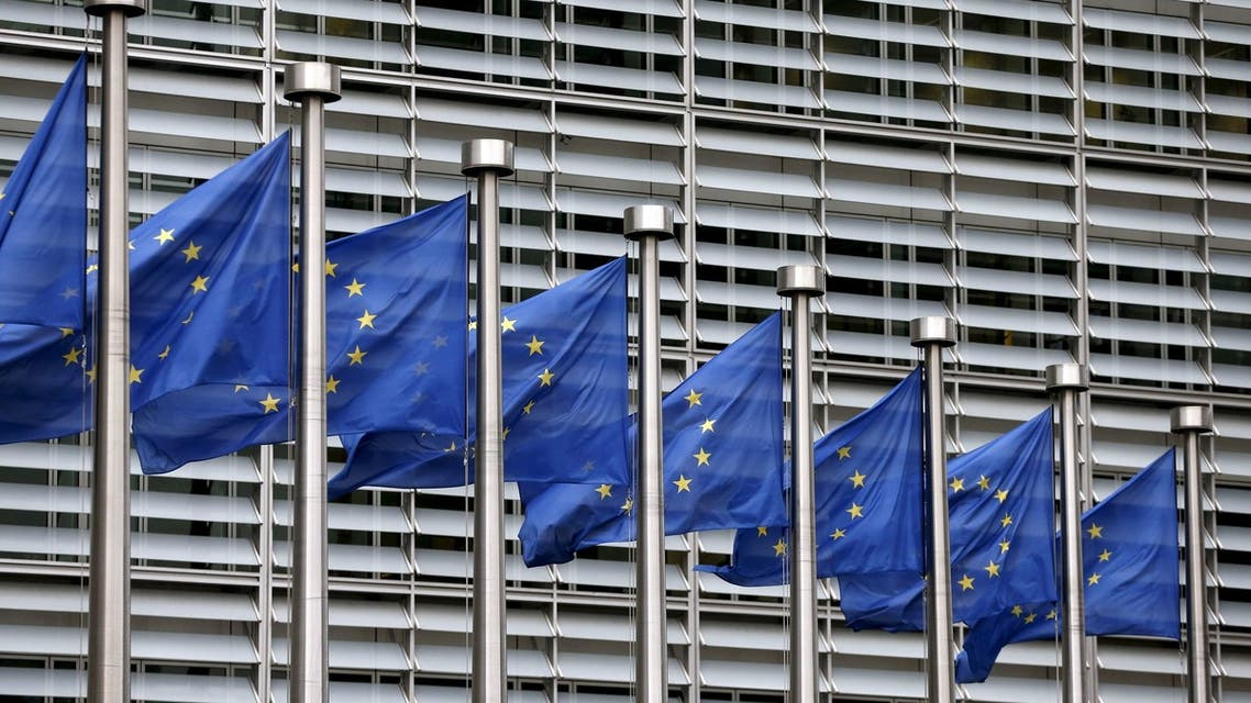 FILE PHOTO: European Union flags flutter outside the EU Commission headquarters in Brussels, Belgium. (File photo: Reuters)