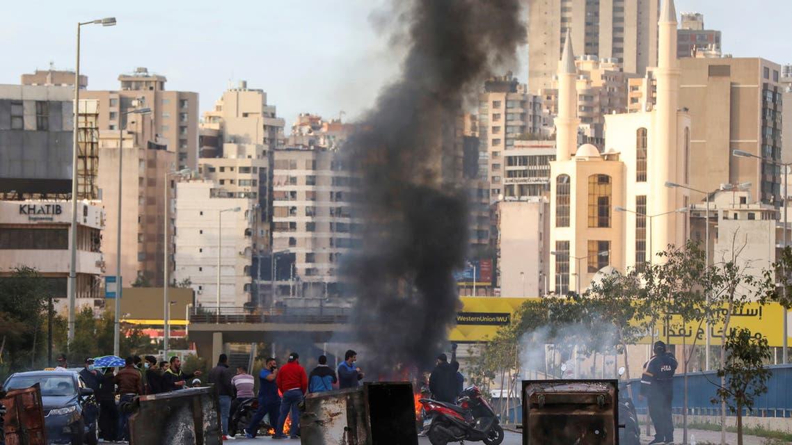 احتجاجات في بيروت يوم 16 مارس