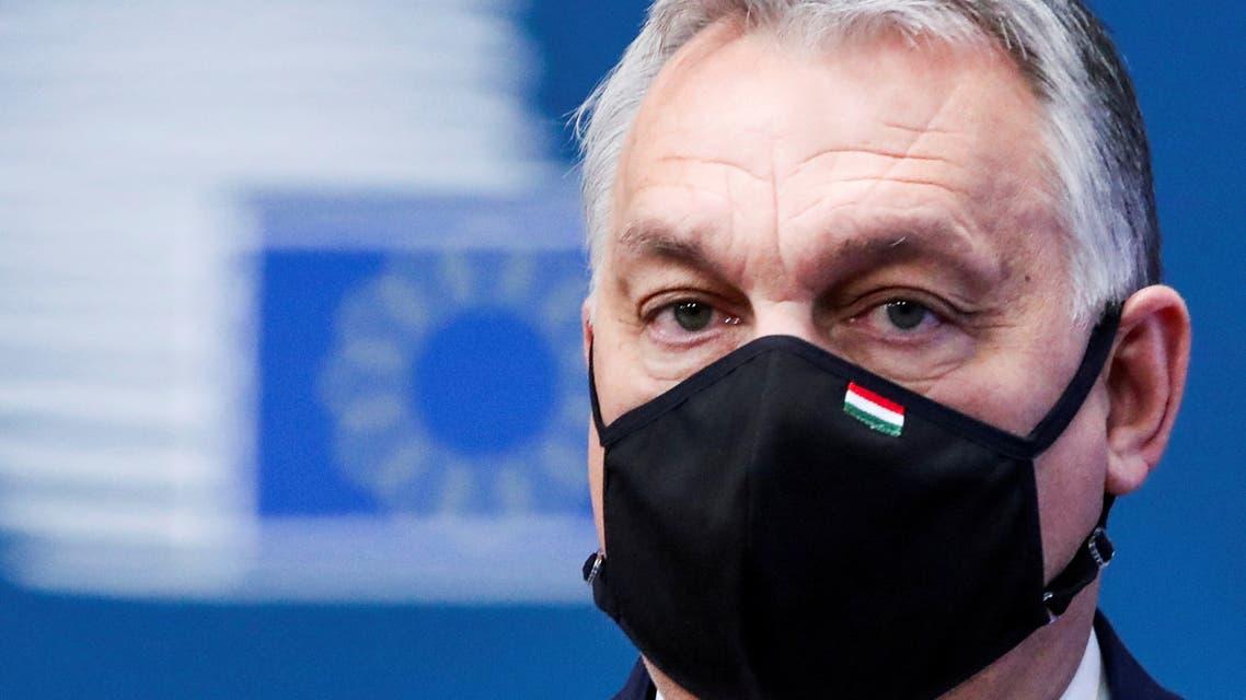 FILE PHOTO: Hungary's Prime Minister Viktor Orban arrives for an EU summit amid the coronavirus disease (COVID-19) lockdown in Brussels, Belgium December 10, 2020. (File photo: Reuters)