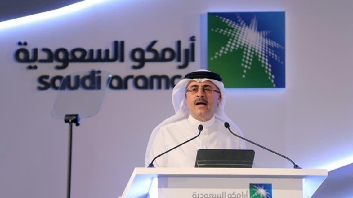 امین الناصر مدیر اجرایی شرکت آرامکو