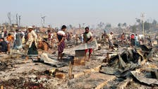 Fire kills three in market near Rohingya camp in Bangladesh