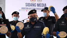 Malaysia seizes $1.26 bln in drugs bust in cooperation with Saudi Arabia