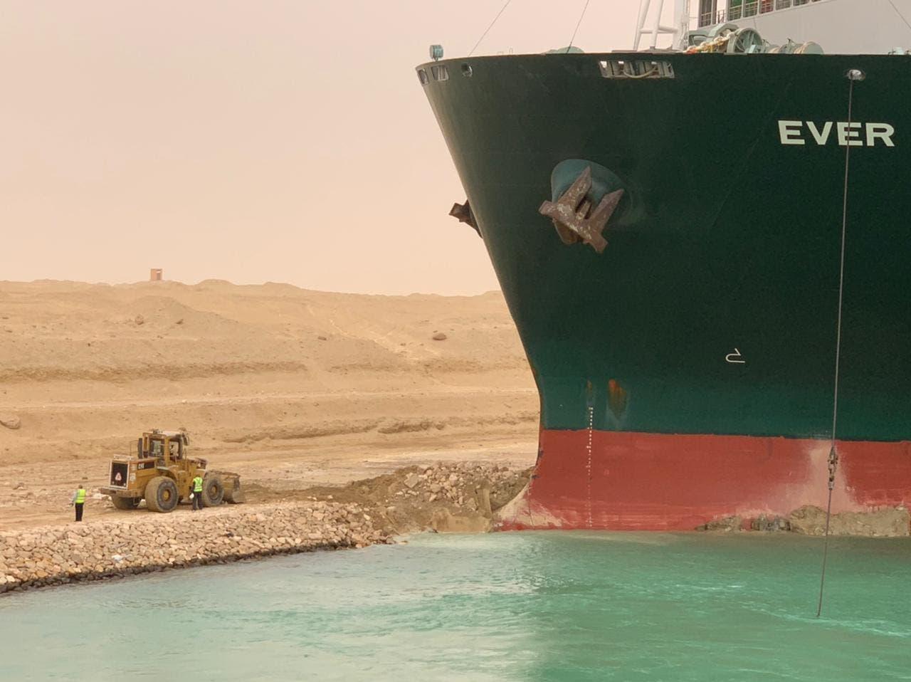حادث السفينة قناة السويس