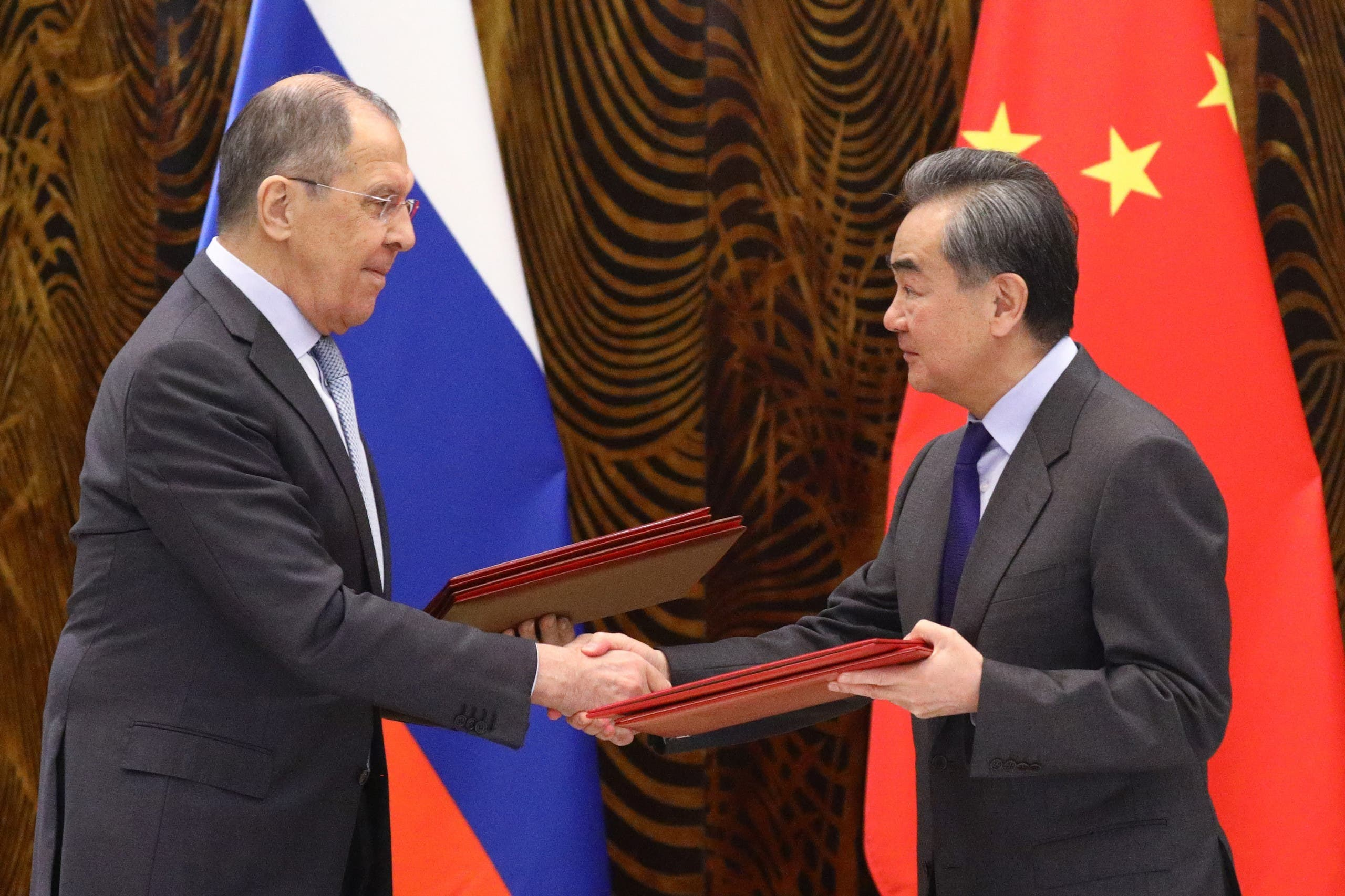 وزرای خارجه چین و روسیه