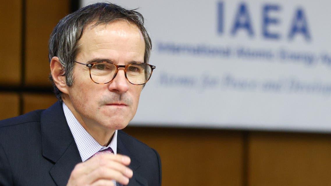 المدير العام للوكالة الدولية للطاقة الذرية رافاييل غروسي (أرشيفية- رويترز)