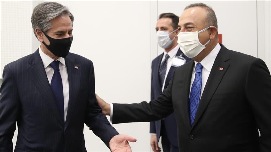 وزرای خارجه آمریکا و ترکیه