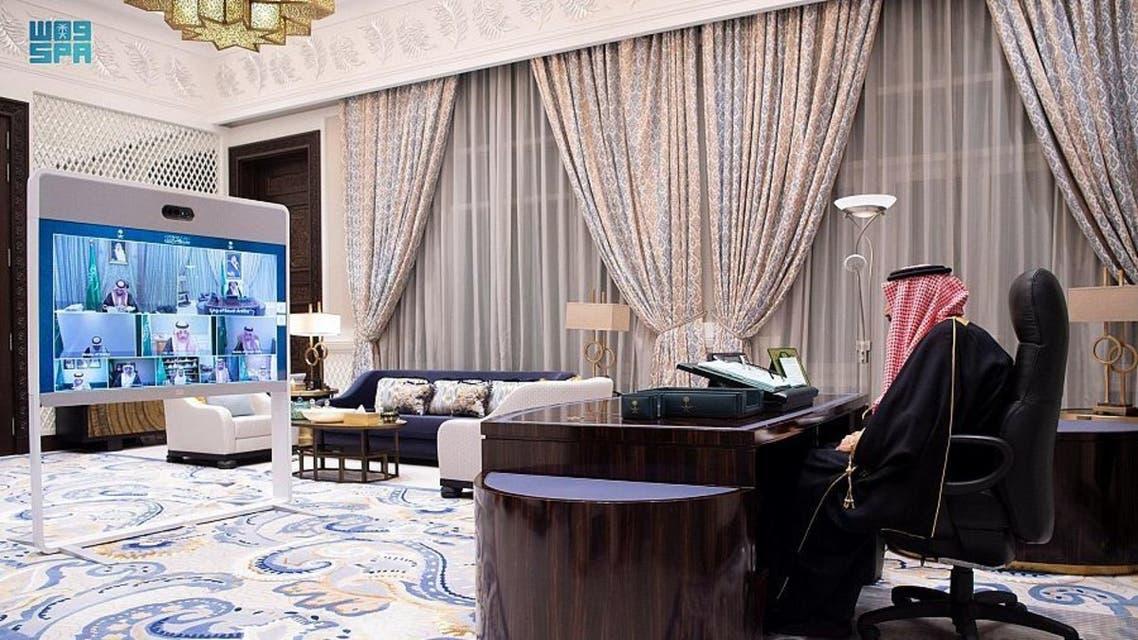 من جلسة مجلس الوزراء السعودي ح- واس