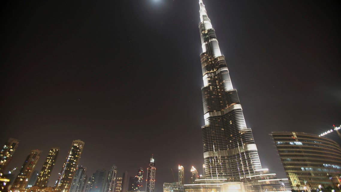 A general view of the Dubai skyline shows the Burj Khalifa building March 25, 2010. (File photo: Reuters)