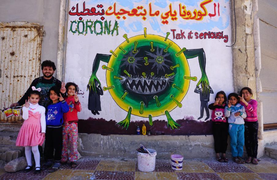 كورونا من سوريا (فرانس برس)