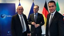 حمایت اروپا از کابینه وحدت ملی لیبی؛ وزرای خارجه ایتالیا، آلمان و فرانسه در طرابلس