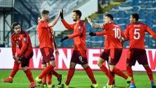 سويسرا تعبر بلغاريا بثلاثية