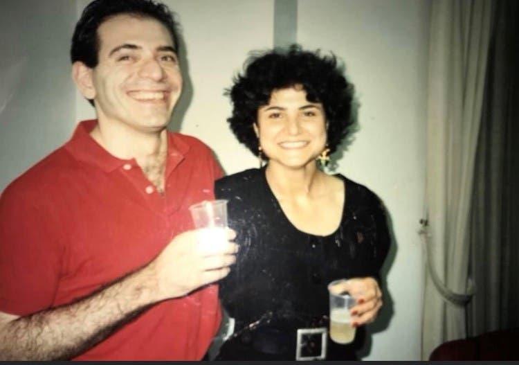 Lokman Slim and his sister Rasha al-Ameer. (Image supplied by Rasha al-Almeer)