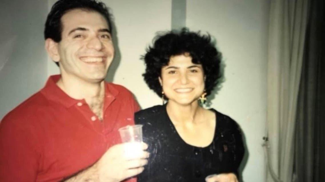 Lokman Slim and his sister Rasha al Ameer. (Rasha al Almeer)