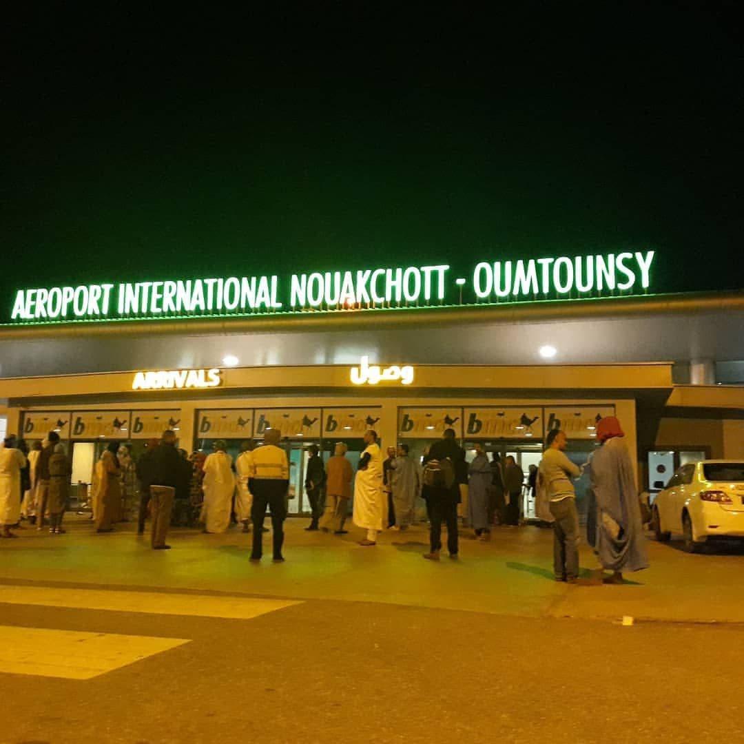 مدخل مطار نواكشوط (أرشيفية)