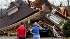 US tornado outbreak kills at least five in Alabama and Georgia