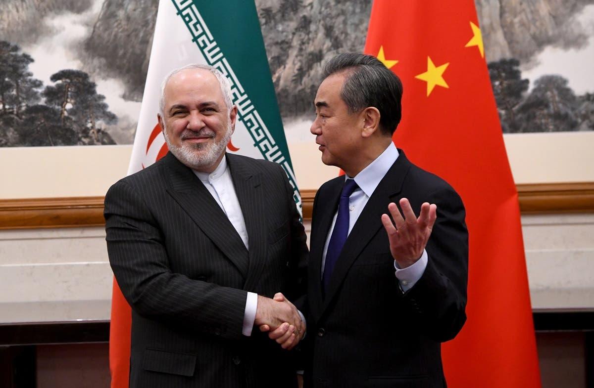 وزير خارجية الصين ونظيره الإيراني