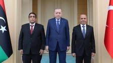 المنفي يؤكدّ لأردوغان على وحدة ليبيا وسيادتها