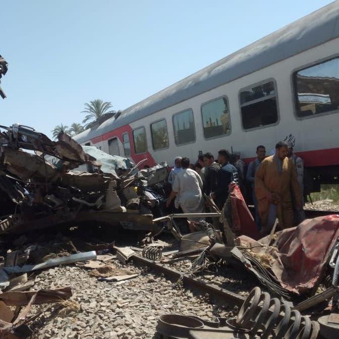 """مفاجأة.. 20 متوفى بحادث قطاري مصر """"عادوا للحياة"""""""