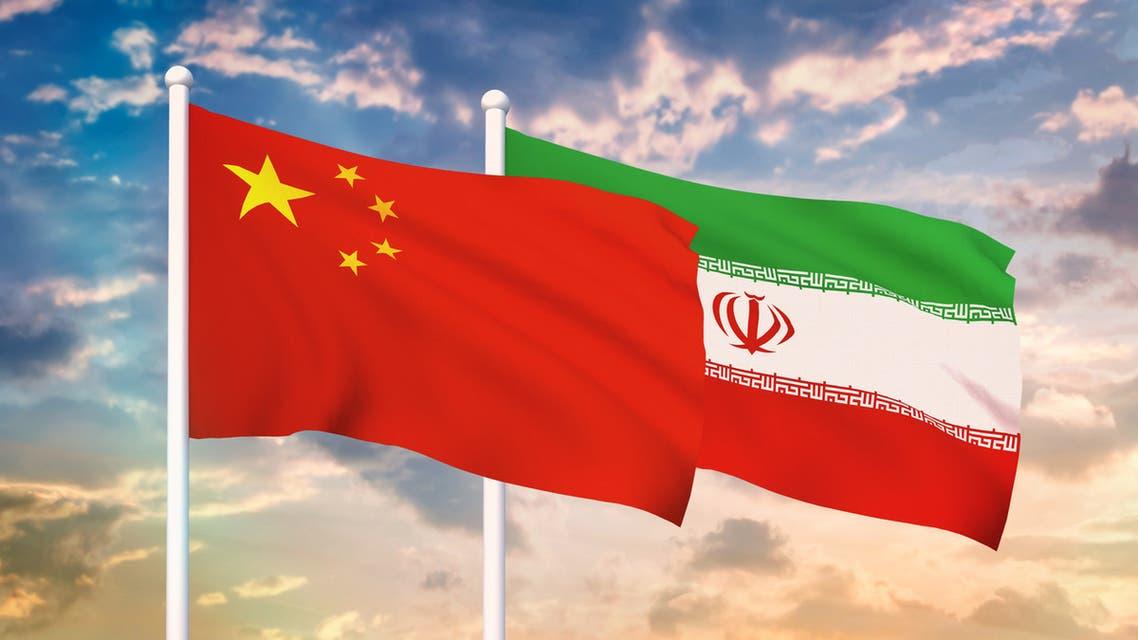إيران الصين تعبيرية