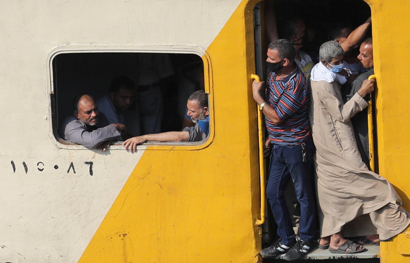 قطار في مصر
