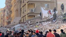 Five dead, over 20 injured after building collapses in Egypt's Cairo