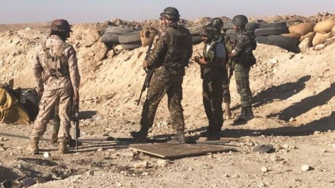 شبه نظامیان ایران در سوریه