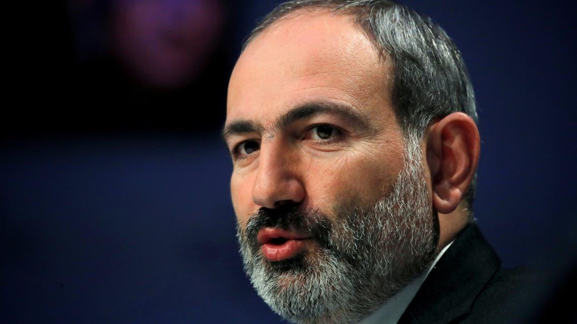 FILE PHOTO: Armenia's Prime Minister Nikol Pashinyan. (File photo: Reuters)