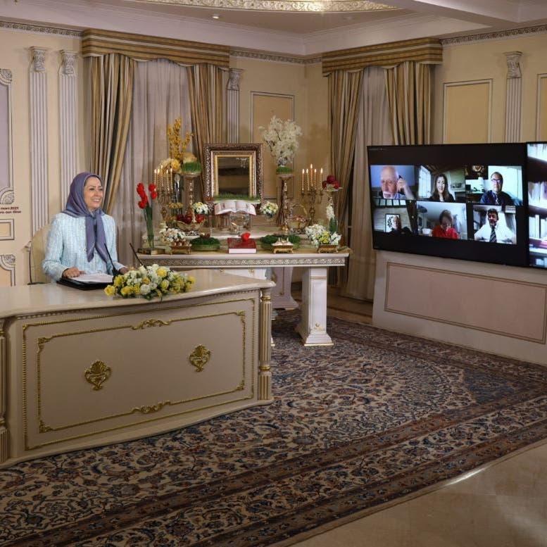 رجوي: أوروبا مطالبة بحسم مواقفها تجاه النظام الإيراني