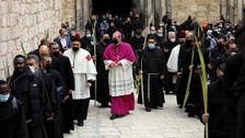 Jerusalem's Church of the Holy sepulcher opens to public on Palm Sunday
