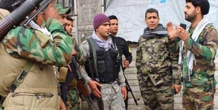 شام میں ایرانی پاسداران انقلاب کی افواج (اے ایف پی)
