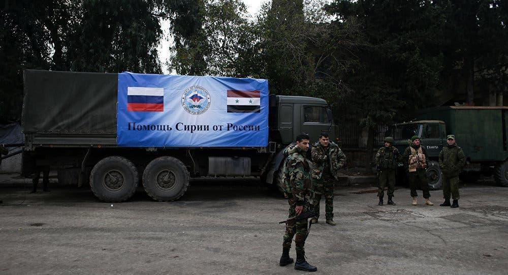 شام میں روسی افواج (اے ایف پی)