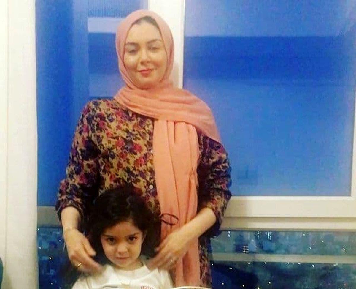 آخرین عکس از آزاده نامداری با دخترش