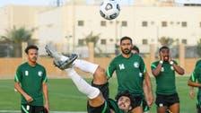 """الأولمبي السعودي يعاود تدريباته.. و""""إصابة"""" تبعد آل سليس"""