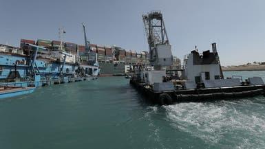 ویدیو؛ لحظات اولیه شناورسازی کشتی به گل نشسته در کانال سوئز