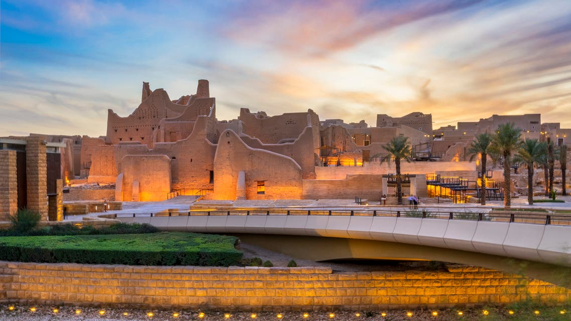 The historic district of At-Turaif in Ad-Diriyah north-west of Riyadh. (Supplied)