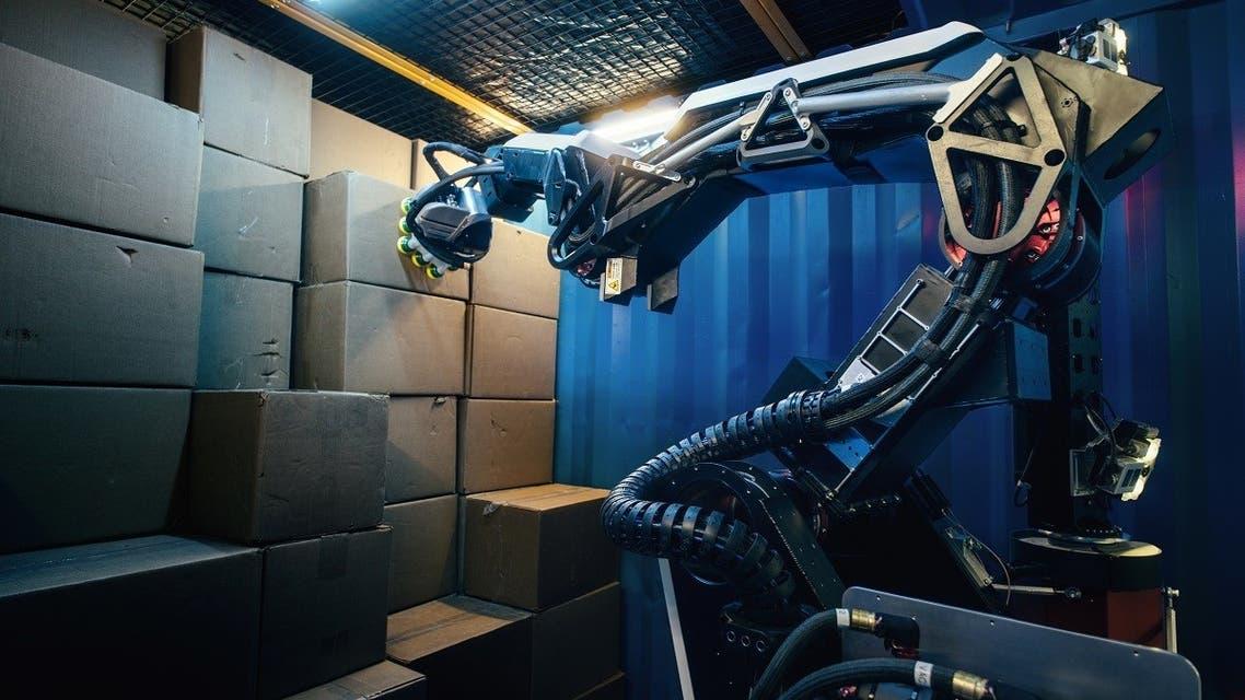A Boston Dynamic's 'Stretch' robot. (Reuters)