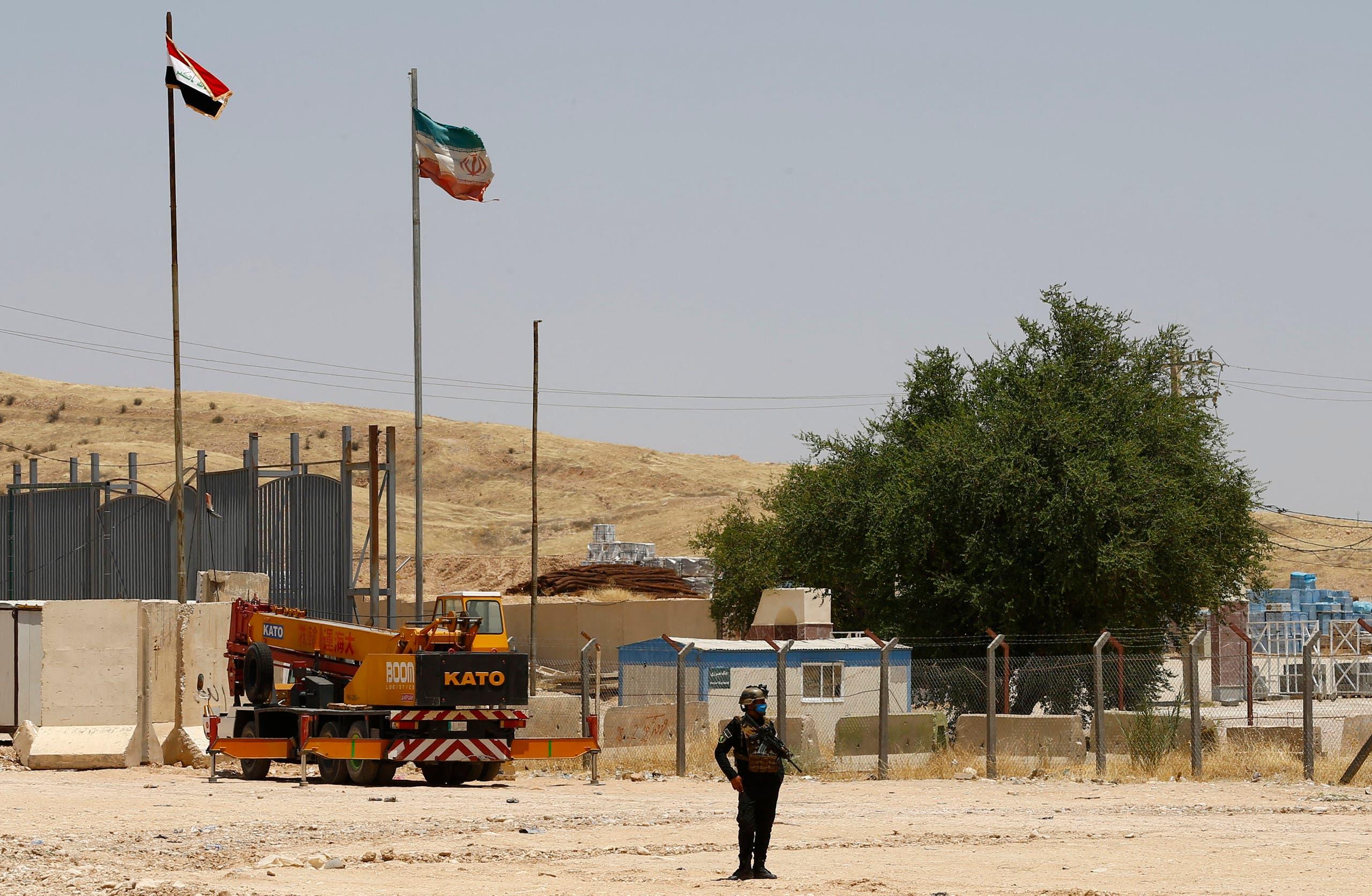 من الحدود العراقية الإيرانية (أرشيفية- فرانس برس)