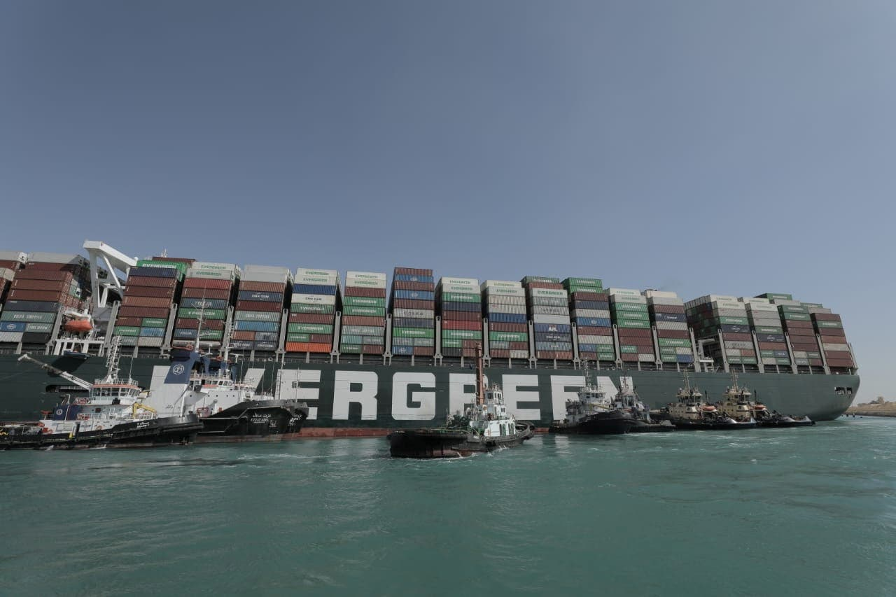 سفينة إيفر غيفن (أرشيفية من رويترز)