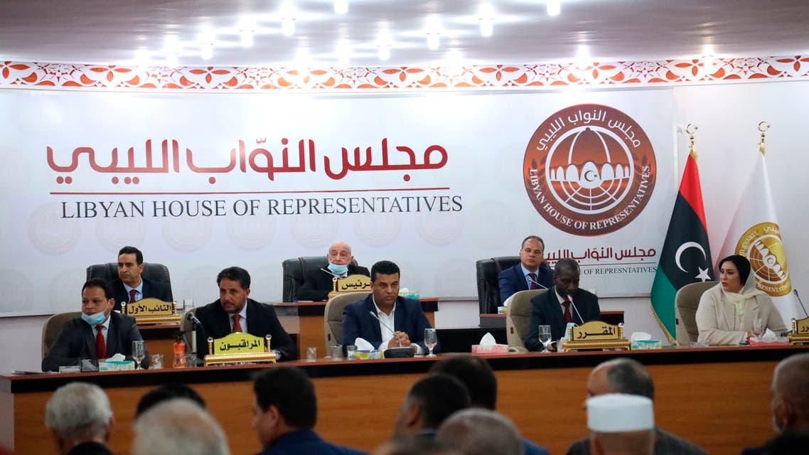 مجلس النواب الليبي(أرشيفية- أسوشييتد برس)