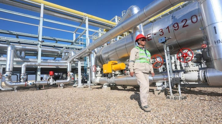 Oil prices gain 2 pct,  on strong US, China services sector growth