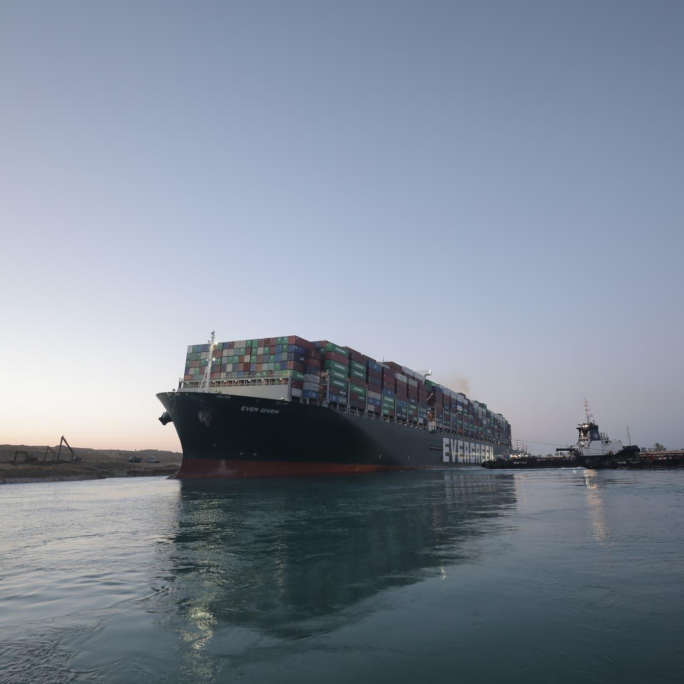 أزمة جديدة لسفينة قناة السويس.. دعوى قضائية وتفسير خاطئ