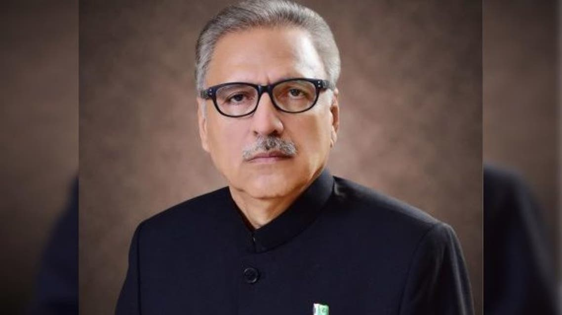 President of Pakistan Arif Alvi