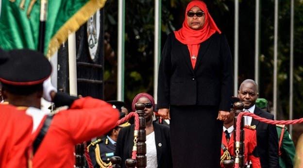سامیه حسن علی، جانشین رئیس جمهوری فقید تانزانیا
