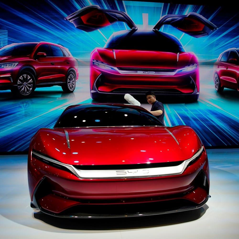 أكبر شركة سيارات كهربائية صينية تسجل نموا ضخما بالمبيعات