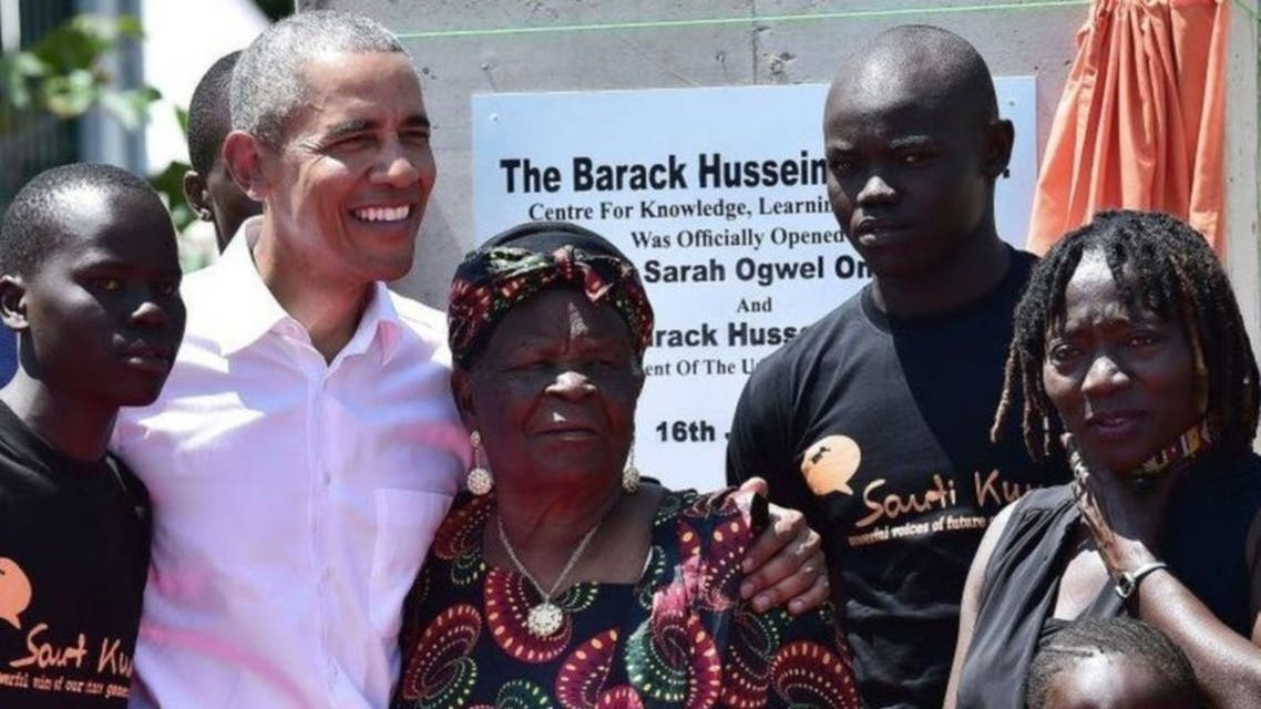 Barak Obama grandmother died