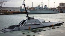 قارب روبوتي.. جديد البحرية البريطانية