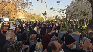 تجمع اعتراضی در تهران علیه امضاء قرارداد ایران و چین