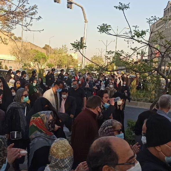 """""""إيران ليست للبيع"""".. احتجاجات ضد اتفاقية بكين وطهران"""
