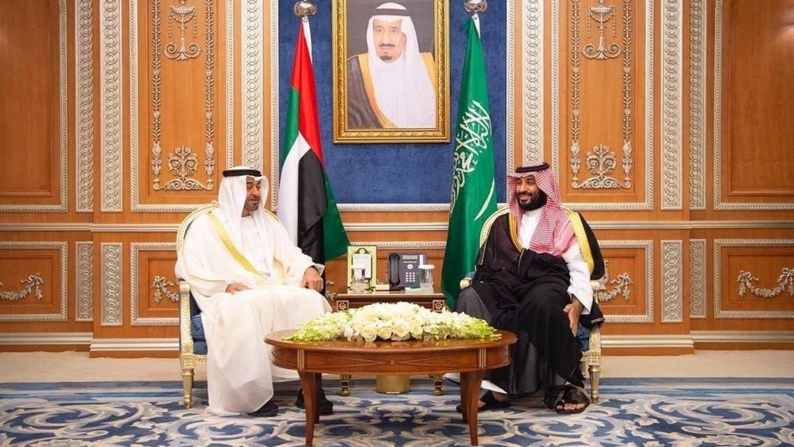سعودی ولی عہد اور اماراتی ولی عہد