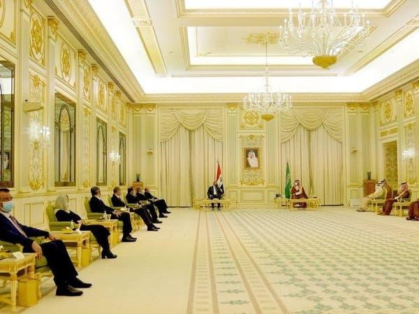 نشست ولی عهد سعودی و نخستوزیر عراق در ریاض